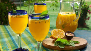 tropical drink emoji tropical sangria recipe bobby flay food network