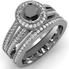 black diamond wedding ring black diamond wedding rings for mindyourbiz us
