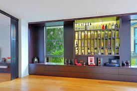 Building A Liquor Cabinet Liquor Display Cabinet Houzz