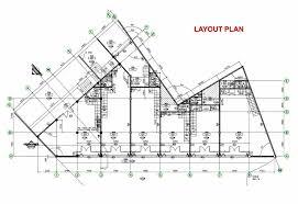 layout denah cafe ruko 3 lantai minimalis modern denah dan tak