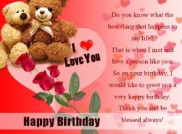 Happy Birthday Wishes Message Happy Birthday Romantic Lovely Wishes Cards Messages For