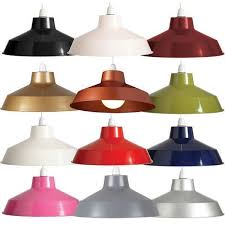 Metal Ceiling Light Shades Retro Metal Lshade Coolie Ceiling L Light Shade Pendant