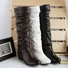 womens boots size 11 and up arrival boots yzs168 pu leather boots size