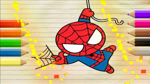 how to draw superheroes coloring pages for kids art colors for