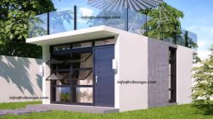 house design with slab roof youtube