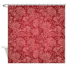Vintage Eyelet Curtains Damask Curtains Paisley Damask Vintage Pattern Shower