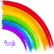 rainbow paint brush vector free vector download 6 050 free vector