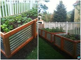 Diy Garden Bed Ideas Diy Raised Garden Bed Ideas Free Plans Corrugated