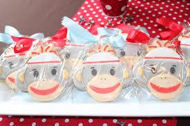 monkey themed baby shower ideas sock monkey baby shower