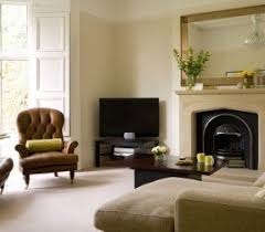 where to place tv in living room with fireplace corner tv units foter