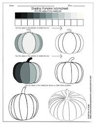 shading pumpkin worksheet by art u0027n stuff teachers pay teachers