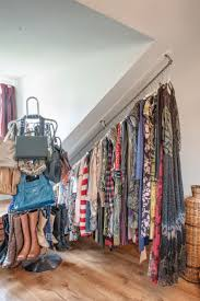 Creative Wardrobe Ideas by Creative Wardrobe Rails For Sloping Ceilings Artenzo