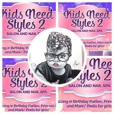 kidz need styles 2 hair and nail salon spa for kids home facebook