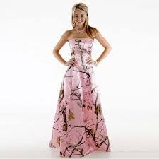 pink camo wedding gowns pink strapless camo wedding dress ipunya
