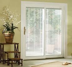 Cheap Blinds For Patio Doors Sliding Glass Doors With Blinds Inside Them Sliding Patio Doors