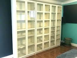 ikea bookcase with doors billy bookcase doors lio co