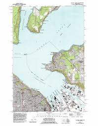 Bremerton Washington Map by Tacoma North Topographic Map Wa Usgs Topo Quad 47122c4