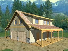 detached garage with bonus room plans barn inspired 4 car garage