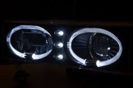 1998 chevy silverado tail lights chevy 1500 pickup 1994 1998 black halo headlights led drl and smoked