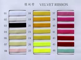 velvet ribbon 6mm velvet ribbon wholesale buy velvet ribbon velvet ribbon