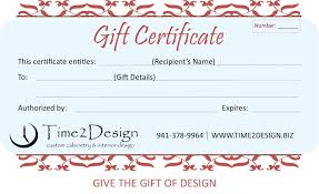 custom gift certificates time2design custom cabinetry and interior design kitchen and bath
