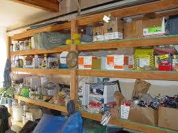Wood Shelving Designs Garage by 31 Exciting Garage Shelving Ideas