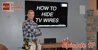 how to hide tv wires code compliant tv wiring youtube