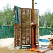 Outdoor Showers Fixtures - outdoor shower bench home design ideas