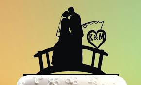 fishing wedding cake toppers wedding cake topper cake topper fishing groom and