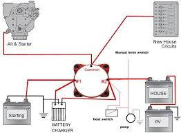boat dual battery switch wiring diagram wiring diagram and
