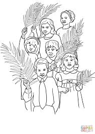 hosanna for jesus coloring page free printable coloring pages