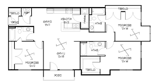 Floor Plans For Apartments 3 Bedroom by Home Design 3 Bedroom Apartmenthouse Plans Lake Eve Resort