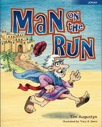 on the run children s book on the story of jonah