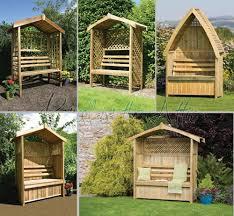 Rustic Gazebo Ideas by Garden Arbour Seat Pergola Trellis Wood Arch Bench Corner Storage