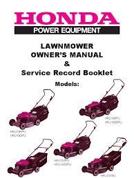 download honda lawn mower owner u0027s manual docshare tips