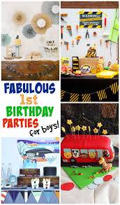 birthday boy ideas 1st birthday party ideas for boys design dazzle