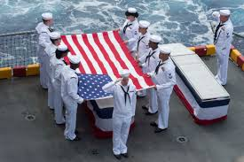 Flag Ceremony Meaning Honoring Our Shipmates The Heritage Of The Military Funeral And