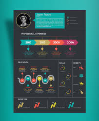 infographic resume templates simply infographic resume template indesign 15 creative infographic