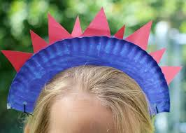 4th of july headbands 4th of july craft paper plate crowns make and takes