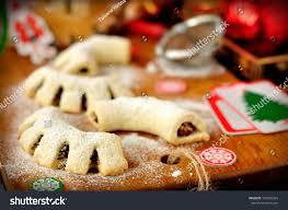 cuddureddi sicilian christmas cookies vintage effect stock photo