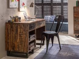 Schreibtisch Massiv Schreibtisch Priya Altholz Massiv Mango 13001 Pickupmöbel De