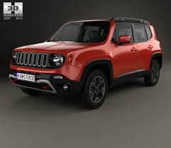 jeep renegade jeep renegade trailhawk 2015 3d model hum3d