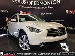 lexus used suv 2014 used 2014 white infiniti qx70 awd premium walkaronud review