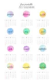 Small Desktop Calendar Free 23 Free 2017 Calendar Printables Seventeen Free Printable And