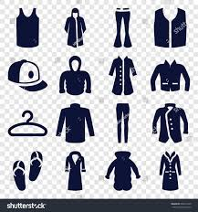 casual icons set set 16 casual stock vector 609819140