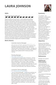Controller Resume Examples by Customer Service Manager Resume Samples Visualcv Resume Samples