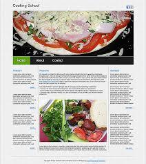 free dreamweaver restaurant templates