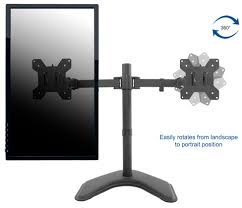 articulating monitor desk mount vivo dual monitor articulating desk stand mount adjustable fits
