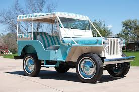 vintage willys jeep image 1960 willys jeep gala surrey dj 3a antique light blue auto