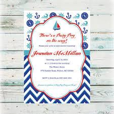 nautical baby shower invitations printable nautical baby shower invitation baby boy shower